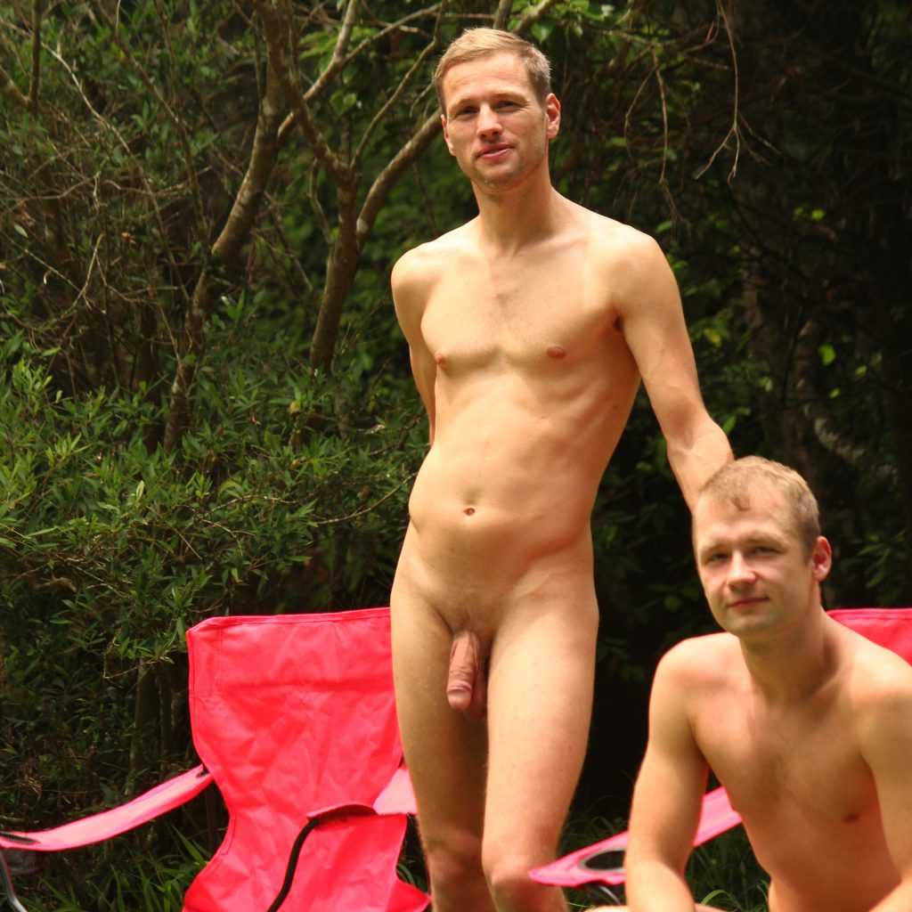It is fine to be naked over much of our 20-acre property. Just take care that you can't be seen from the road.