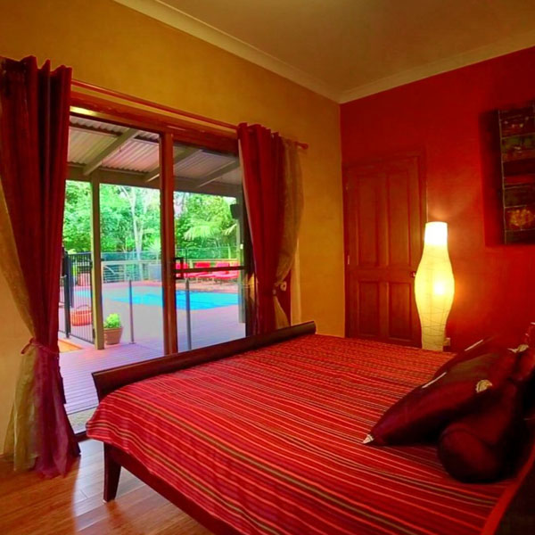 Accommodation - The Poolview room