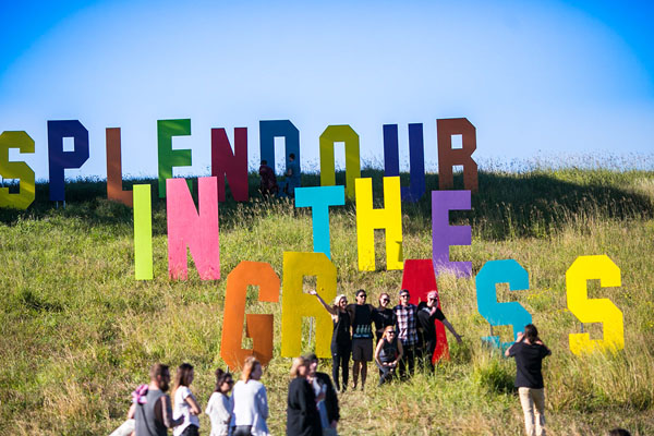 Splendour in the Grass takes place each year at North Byron Parklands, a 30-minute drive from Revelwood.