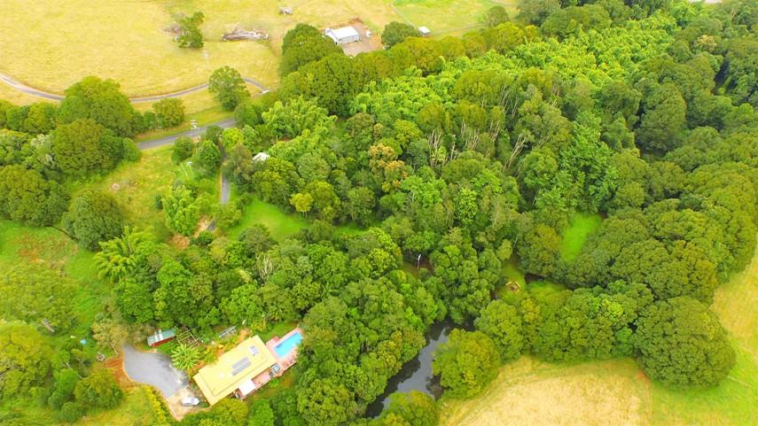 Aerial view of west Revelwood, overlooking Shukranu, Kaala Lund and Gaandu