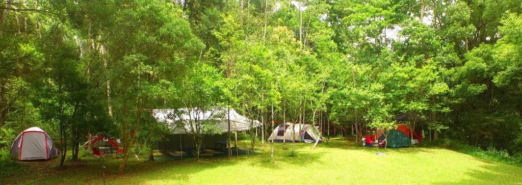 Riverside camping in Shukranu