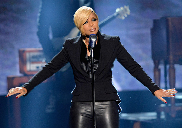 Mary J Blige at the 2014 American Music Awards. Photo Rap Up